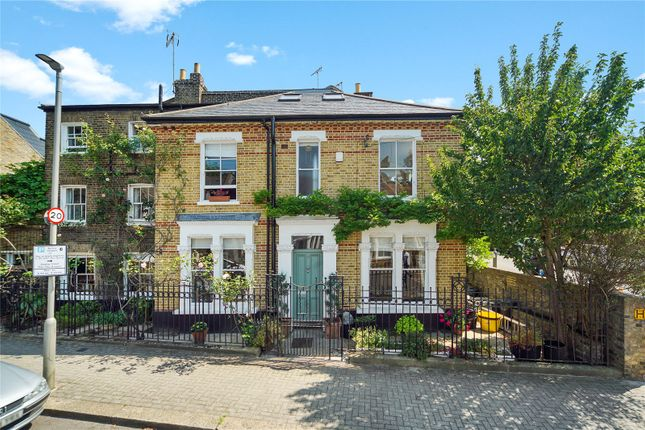 Thumbnail End terrace house for sale in St John's Hill Grove, Battersea, London