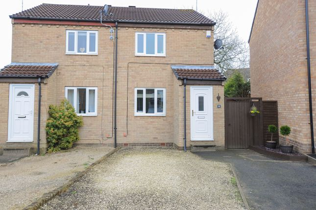 2 bed semi-detached house for sale in Tunstall Way, Walton, Chesterfield S40