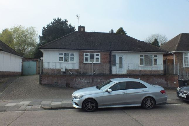 Thumbnail Bungalow to rent in Summerlea Road, Leicester