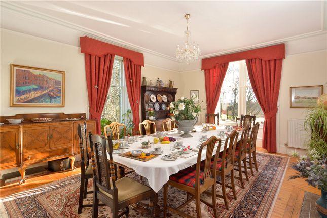 Dining Room of Kirkton Barns Farmhouse, Tayport, Fife DD6