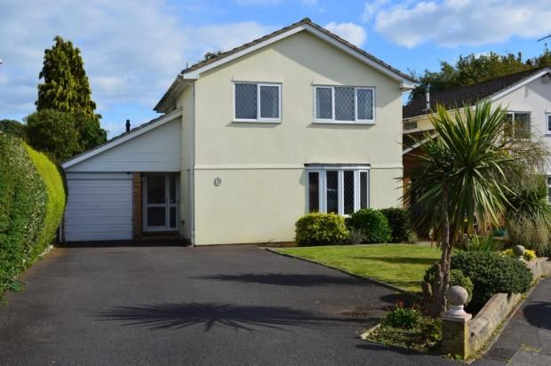 Thumbnail Detached house for sale in Sopwith Crescent, Merley, Wimborne