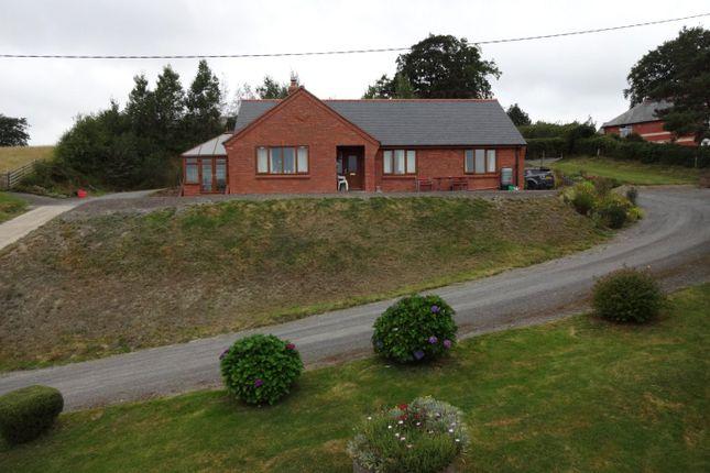 Thumbnail Bungalow for sale in Trefeglwys, Caersws, Powys