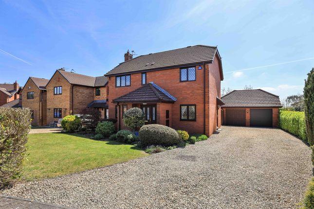 Thumbnail Detached house for sale in Cefn Onn Meadows, Lisvane, Cardiff