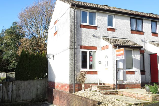 Thumbnail End terrace house for sale in Holman Way, Woodlands, Ivybridge