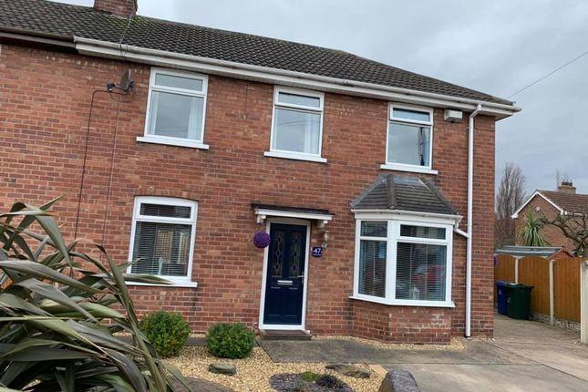 Thumbnail Semi-detached house for sale in Sutton Road, Doncaster