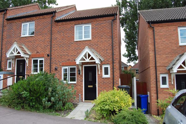 Thumbnail End terrace house to rent in Malthouse Road, Ilkeston, Derbyshire