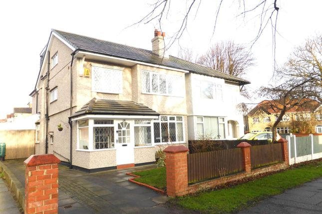 Thumbnail Semi-detached house for sale in Kings Lane, Bebington CH63,
