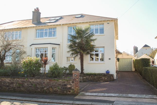 Thumbnail Semi-detached house for sale in Russell Avenue, Hartley, Plymouth