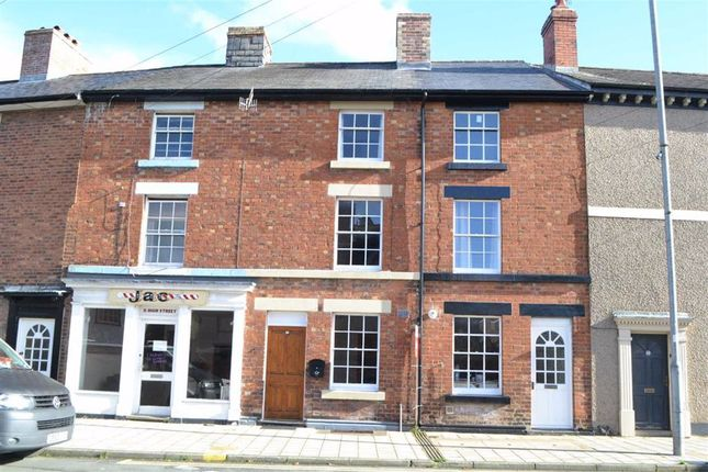 Thumbnail Terraced house for sale in 12, High Street, Llanidloes, Powys