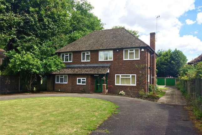 Thumbnail Detached house for sale in Velmead Road, Fleet