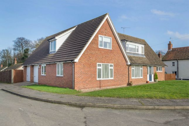 Thumbnail Detached house for sale in Fairview Drive, Colkirk, Fakenham