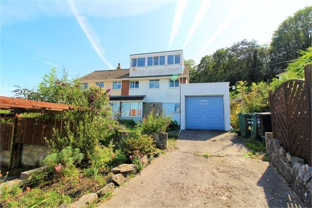 Thumbnail Semi-detached house for sale in Hill End, Lower Kewstoke Road, Worle, Weston-Super-Mare, North Somerset.