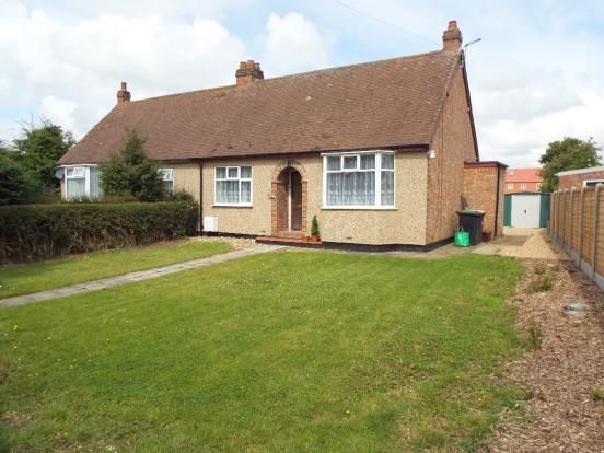 Thumbnail Detached bungalow to rent in High Street, Cranfield