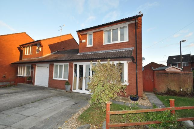 3 bed link-detached house for sale in New Tower Court, Wallasey
