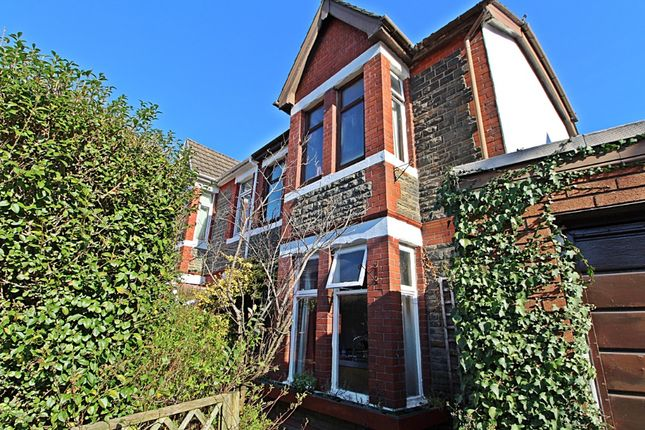 Thumbnail Semi-detached house to rent in Park Crescent, Treforest
