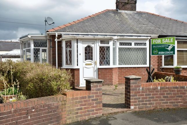 Thumbnail Semi-detached bungalow for sale in Winchester Avenue, Accrington