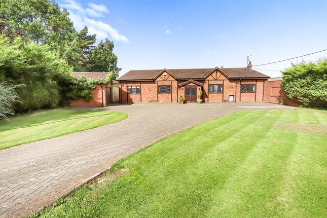Thumbnail Detached bungalow for sale in Ivetsey Road, Wheaton Aston, Stafford