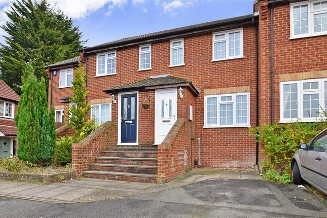 Terraced house for sale in Christie Close, Walderslade, Chatham, Kent