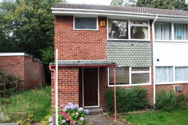 Thumbnail End terrace house to rent in North Close, Oakwood, Leeds