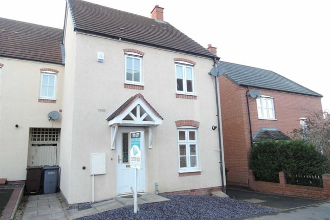 3 bed end terrace house to rent in Anchor Lane, Solihull