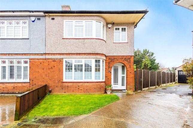 Thumbnail Semi-detached house for sale in Eyre Close, Gidea Park