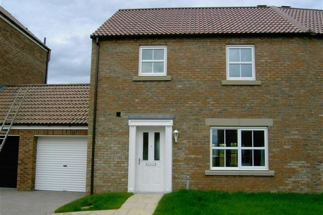 Thumbnail Semi-detached house to rent in Teeswater, Darlington