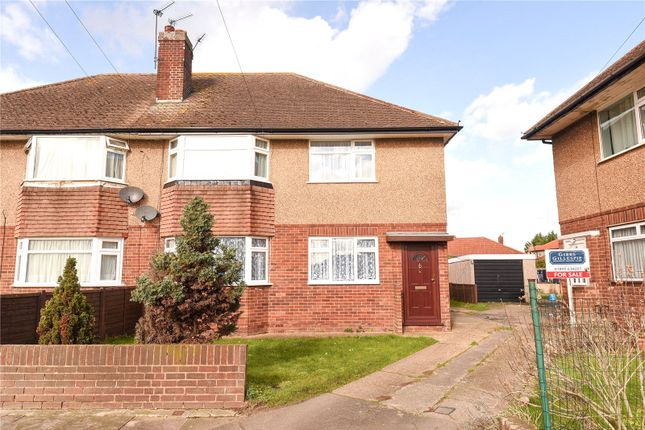 Thumbnail Maisonette for sale in Weldon Close, South Ruislip, Middlesex