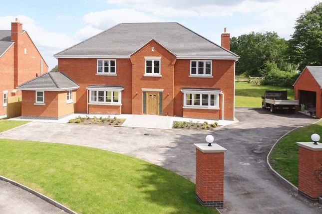 Thumbnail Detached house for sale in Pinewood Road, Ashley Heath, Market Drayton, Shropshire
