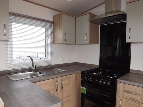 Kitchen of Summerville Leisure Park, Acre Moss Lane, Morecambe, Lancashire LA4
