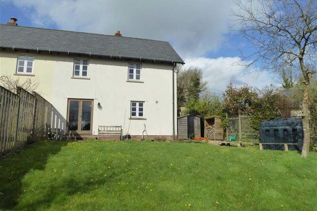 Thumbnail Semi-detached house for sale in Germansweek, Beaworthy