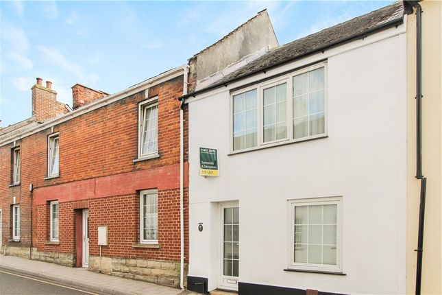 Thumbnail Terraced house to rent in Lyme Street, Axminster, Devon