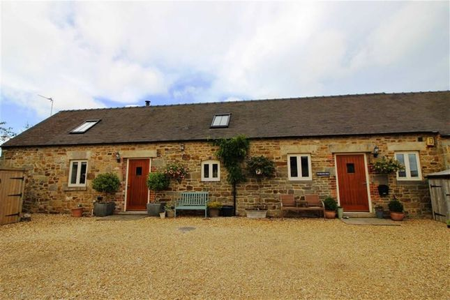 Thumbnail Barn conversion for sale in Ufton Fields, Oakerthorpe, Derbyshire
