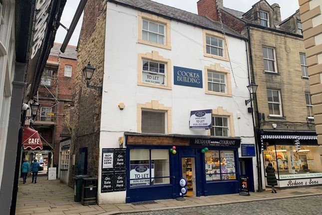 Office to let in Cookes Buildings, 4 Meal Market, Hexham