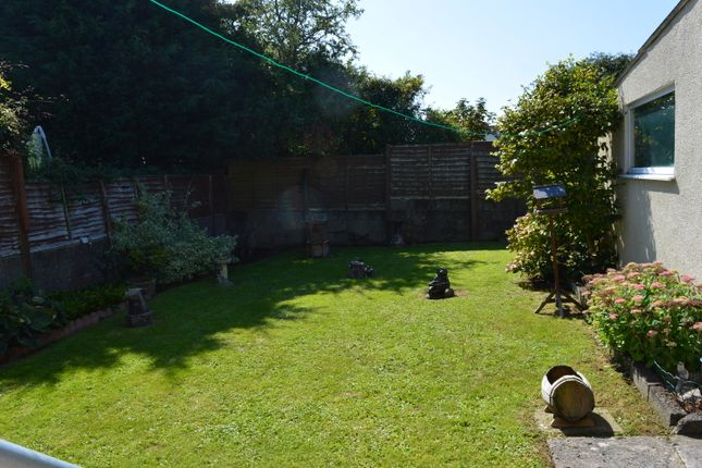 Back Garden of Fairfield Rise, Llantwit Major CF61