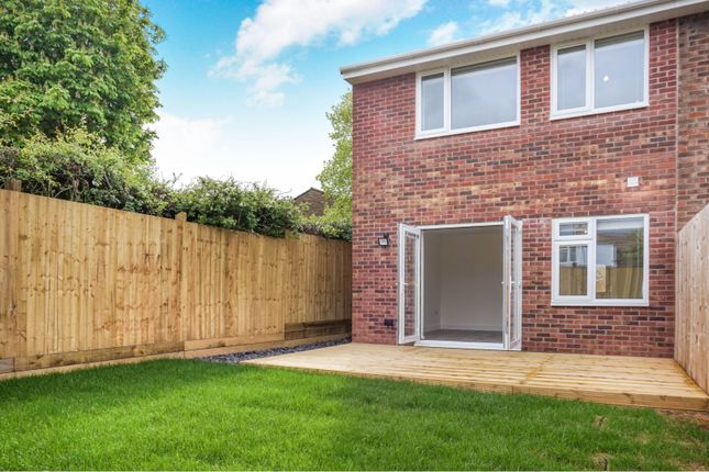Thumbnail End terrace house for sale in Leaholme Gardens, Whitchurch