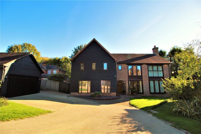 Thumbnail Detached house for sale in Convent Gardens, Findon Village, Worthing, West Sussex