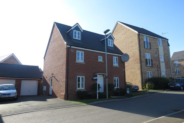 Thumbnail Detached house for sale in Charisse Gardens, Oxley Park, Milton Keynes