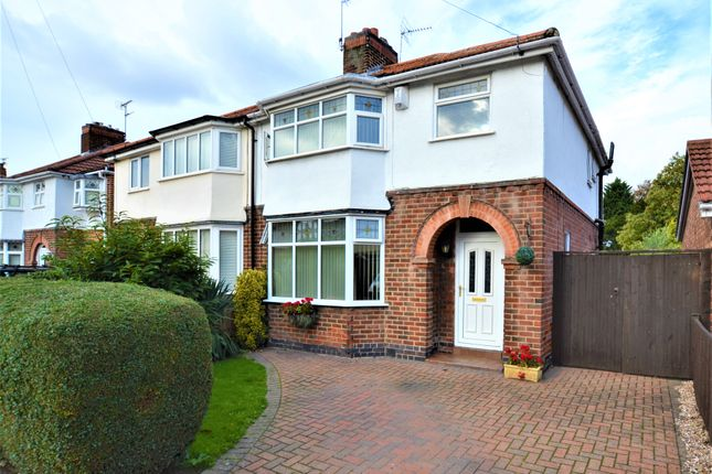 Thumbnail Semi-detached house for sale in Nunsfield Drive, Alvaston