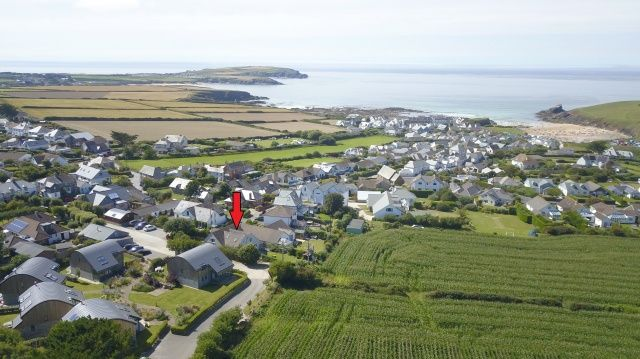 Thumbnail Detached house for sale in Trevone Road, Trevone, Padstow