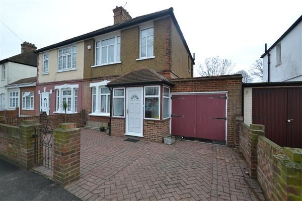 Thumbnail Semi-detached house for sale in Maswell Park Crescent, Hounslow