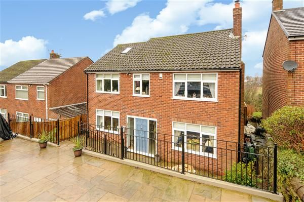 Thumbnail Detached house for sale in Blakelow Road, Macclesfield