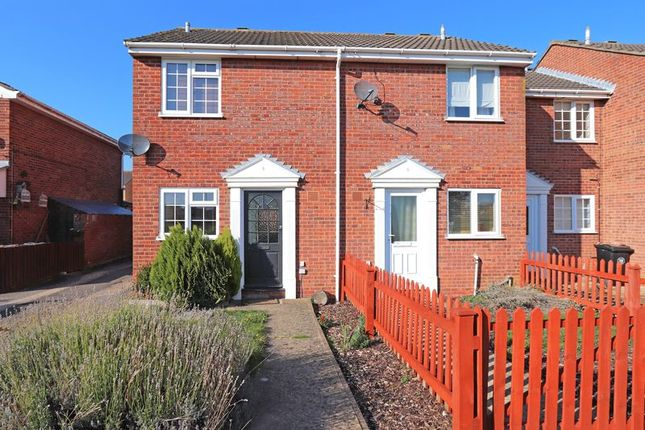 Thumbnail Semi-detached house to rent in Thackers Way, Deeping St. James, Peterborough