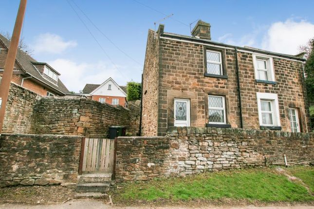 Thumbnail 2 bed semi-detached house to rent in Holmley Lane, Coal Aston, Dronfield, Derbyshire