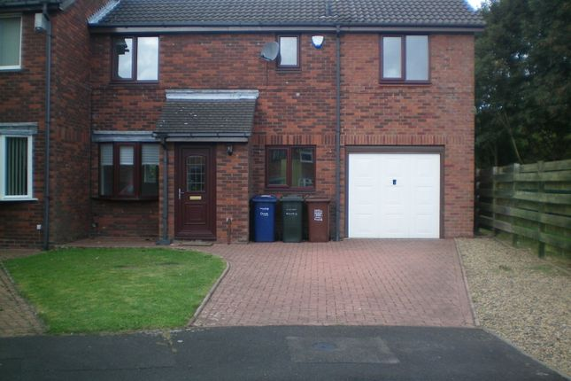 Thumbnail Semi-detached house to rent in Stuart Court, Newcastle Upon Tyne