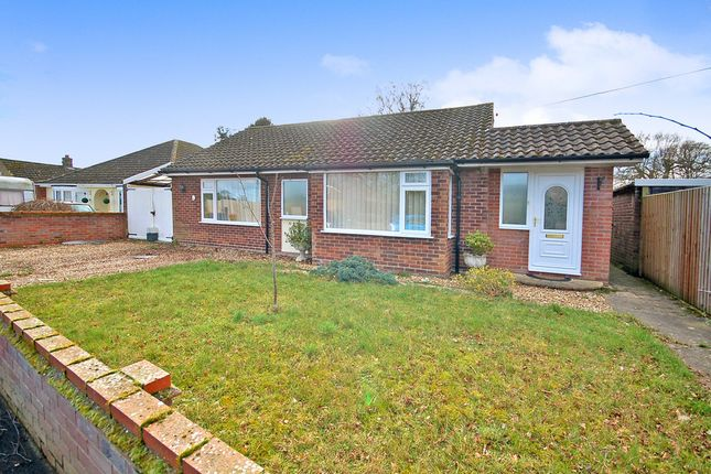 Thumbnail Detached bungalow for sale in Hereward Way, Weeting, Brandon