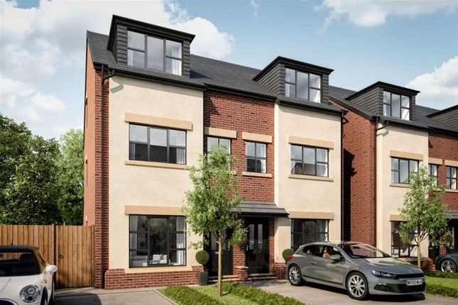 Thumbnail Semi-detached house for sale in Woodland Grange, Ellenbrook, Manchester