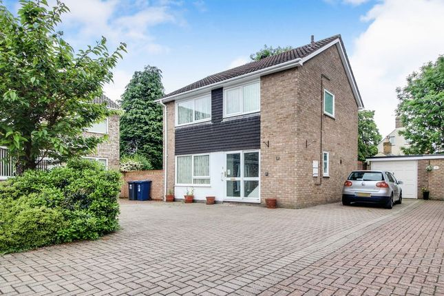 Thumbnail Detached house for sale in Burnt Close, Eynesbury, St. Neots