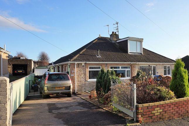 Thumbnail Semi-detached bungalow for sale in Merlin Crescent, Bridgend, Bridgend County.