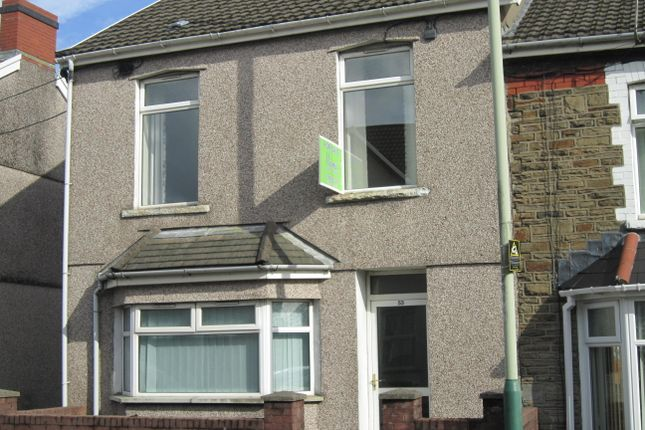 End terrace house for sale in Park Place, Bargoed