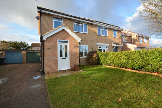 3 bed semi-detached house for sale in Appledore Drive, Carlton Colville, Lowestoft